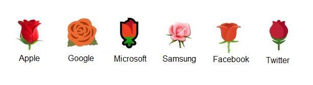 Rosor emoticons