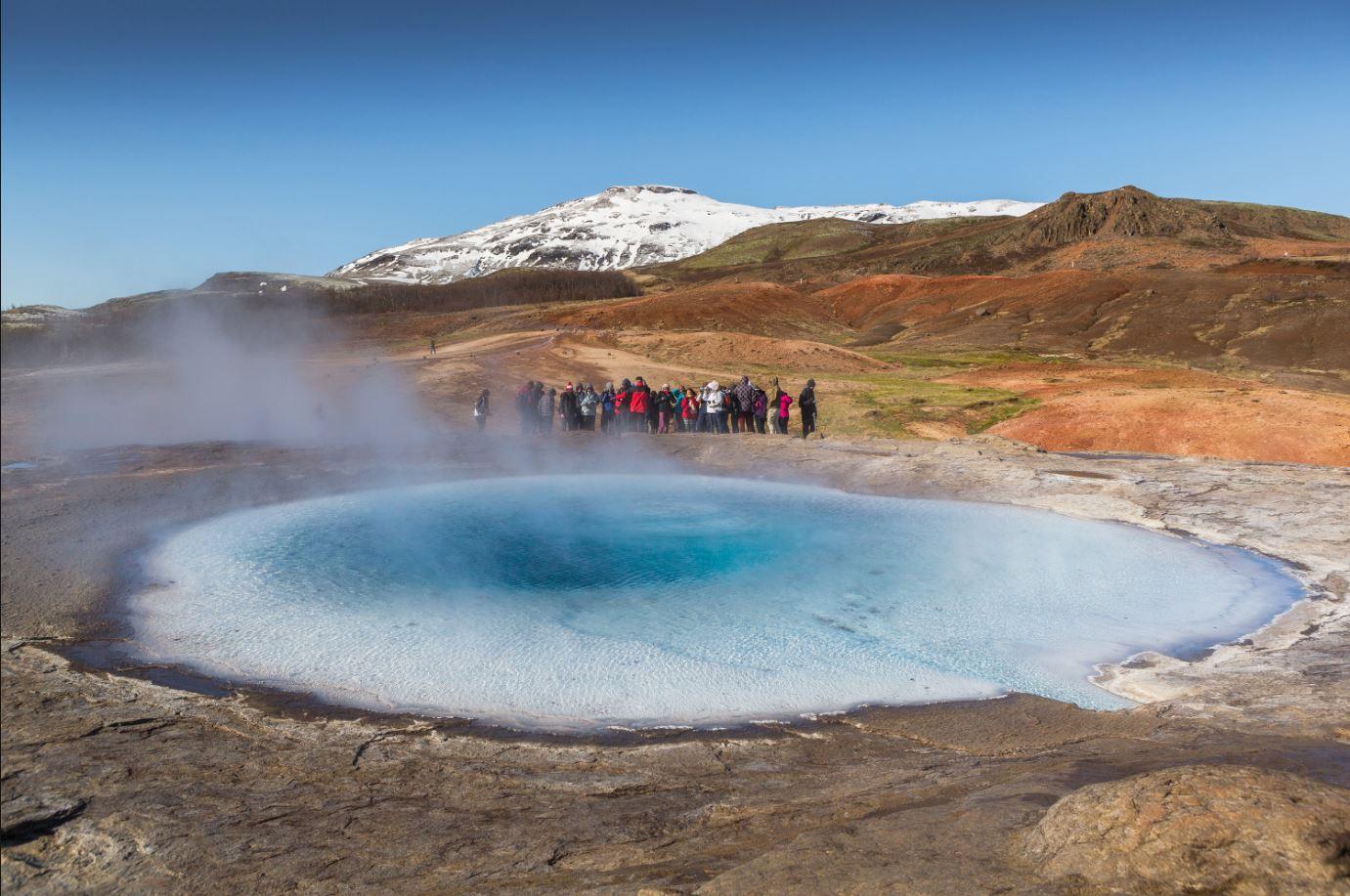 Turismen het miljöfråga på Island