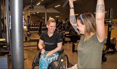 – Omgivelsene gjør oss handicapet