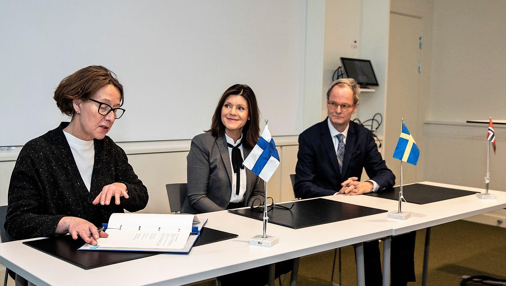Förnyat avtal om utbildning på Nordkalotten