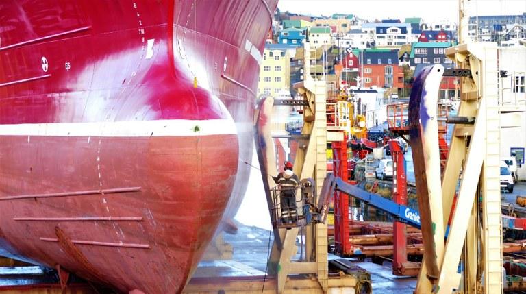 Rekordlåg arbetslöshet på Färöarna  - bara 296 personer