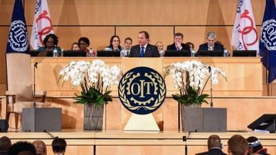 Sveriges förhållande till ILO genom hundra år